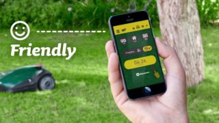 application mobile tondeuses robots robomow